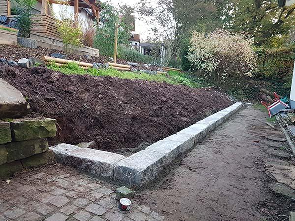Gartenbau Kassel Mauer